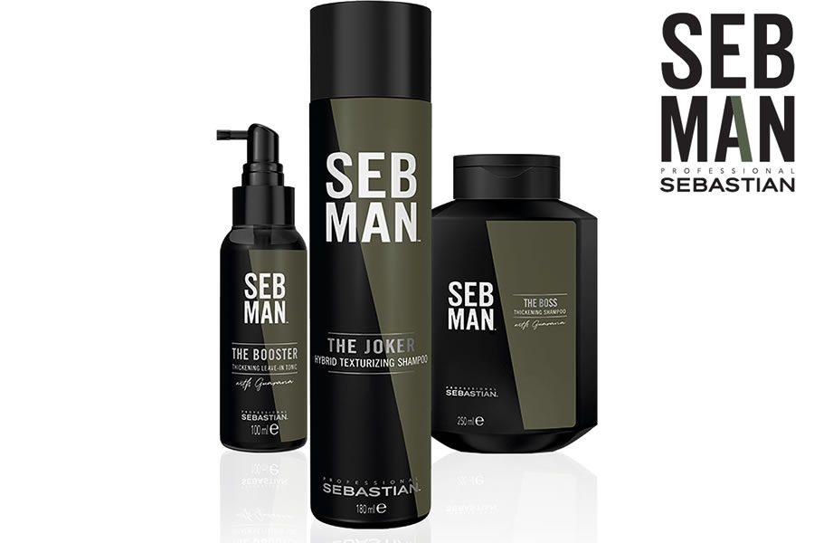 SEB MAN präsentiert das neue Line-up für kraftvolles Haar