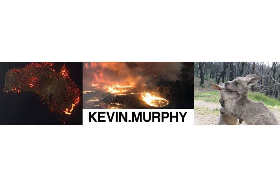 KEVIN MURPHY spendet $ 100.000 für Australien