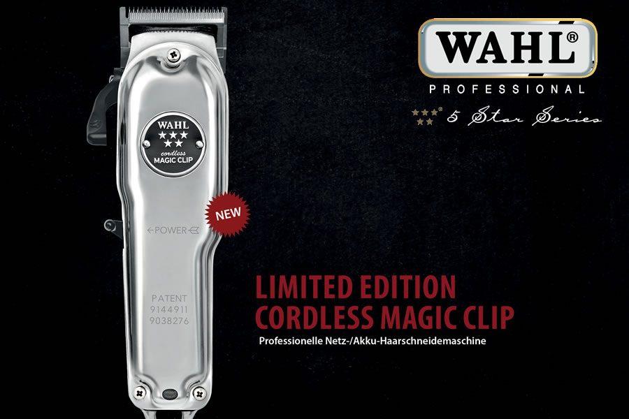 Cordless Magic Clip im neuen Chrome-Design