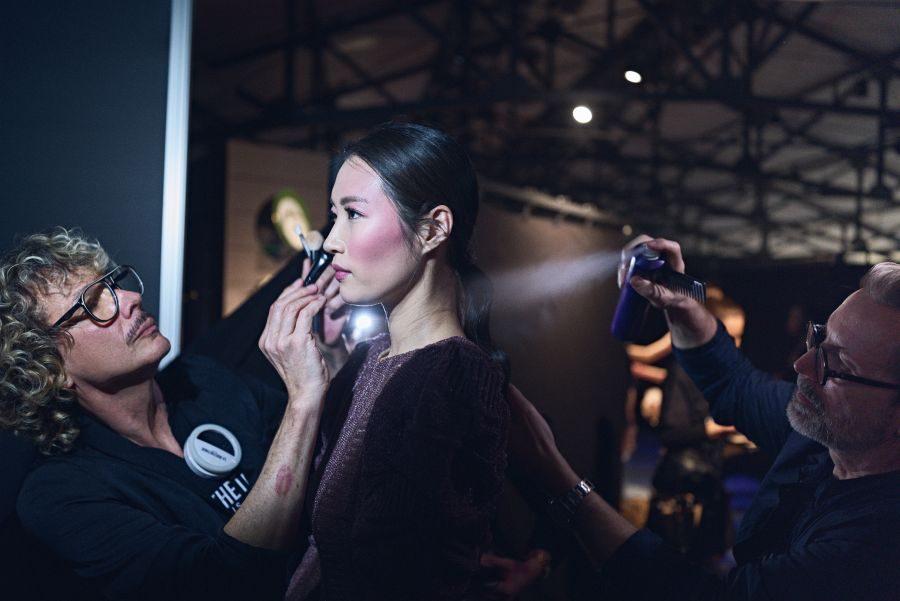 Bild La Biosthétique Paris entwirft als exklusiver Beauty Partner Haar- und Make-up Looks zur feenhaften Lana Mueller Show Innocence