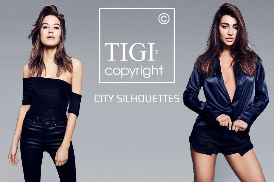 Trend Collection CITY SILHOUETTES von TIGI Copyright - Bild