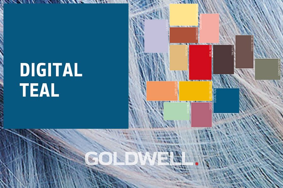 Goldwell präsentiert Color of the Year 2020: DIGITAL TEAL