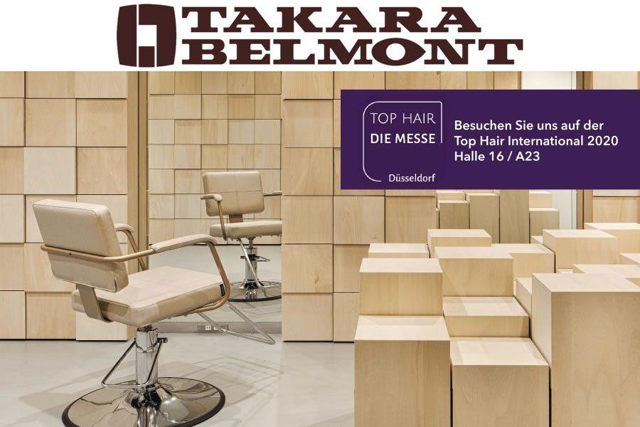 Takara Belmont auf der Top Hair – die Messe 2020