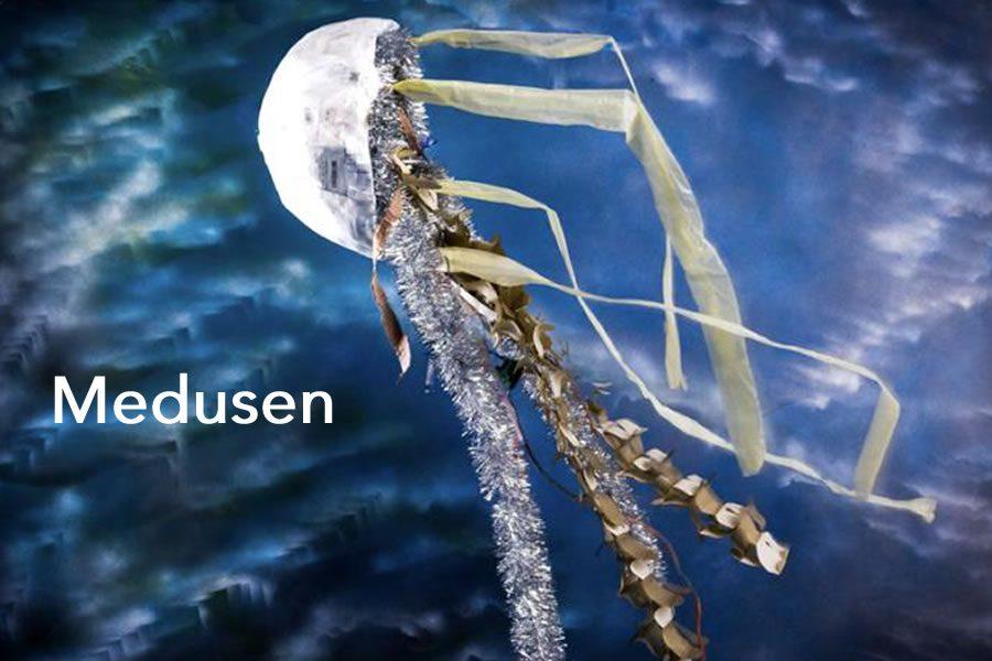 Bild Medusen, die fabelhafte Welt aus Form und Farbe