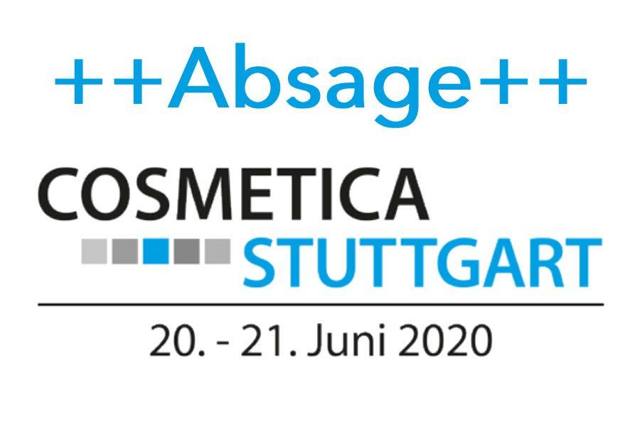 Absage COSMETICA Stuttgart 2020 - Bild