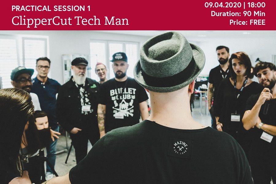 ClipperCut Tech Man - Neues Online-Seminar bei der MOSER eCademy
