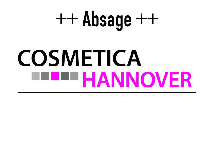 Die COSMETICA Hannover ist abgesagt