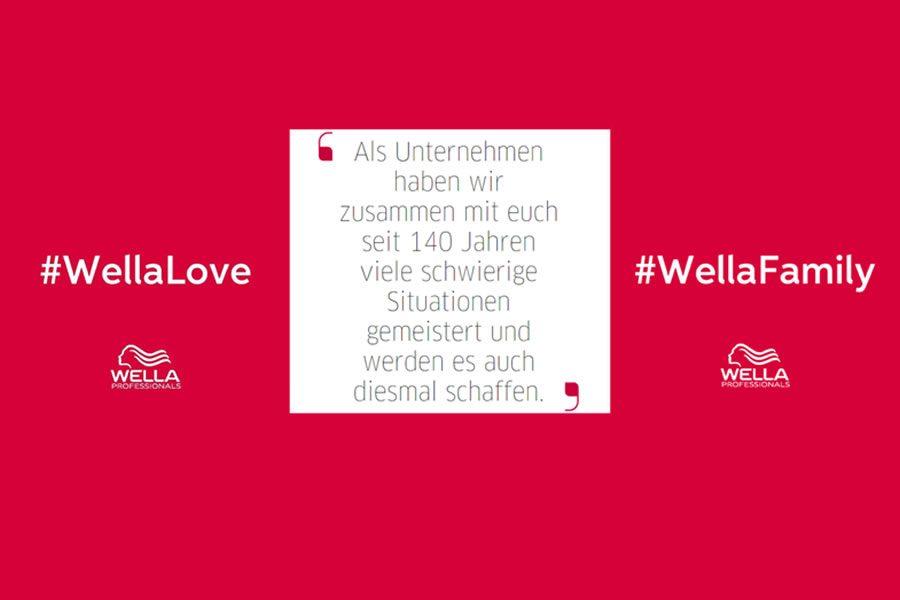 Wella Business Talks zur Unterstützung der Salon Eröffnungen
