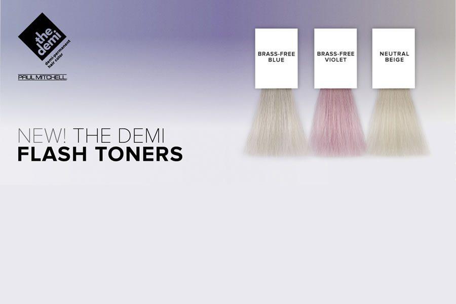 Blond in allen Facetten mit den neuen The Demi Flash Toners