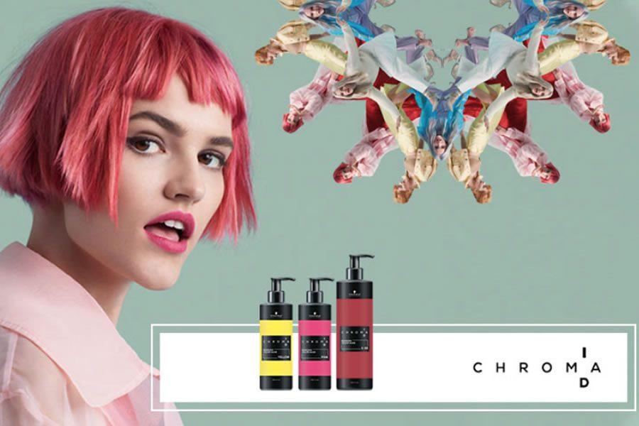 Selbstbewusste Farb-Statements mit Chroma ID von Schwarzkopf Professional