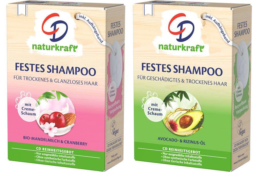 Erstes festes Shampoo-Stück erweitert das Produktportfolio von CD - Bild
