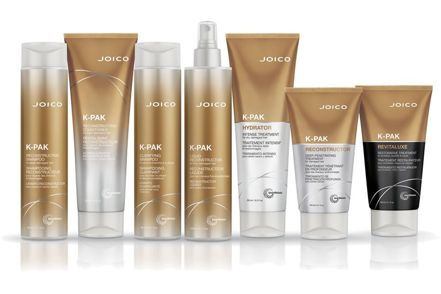 Die K-PAK Serie von JOICO - Über vier Jahrzehnte gesund aussehendes Haar