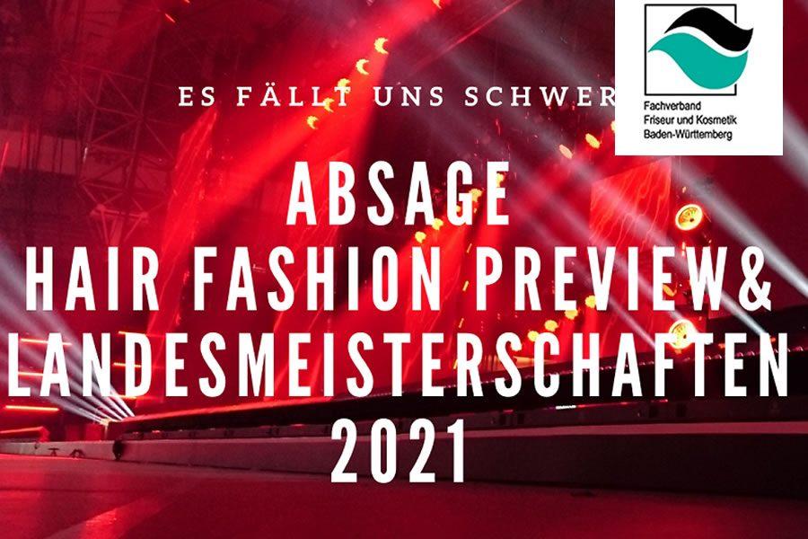 Absage der Baden-Württembergischen Landesmeisterschaften der Friseure - Bild