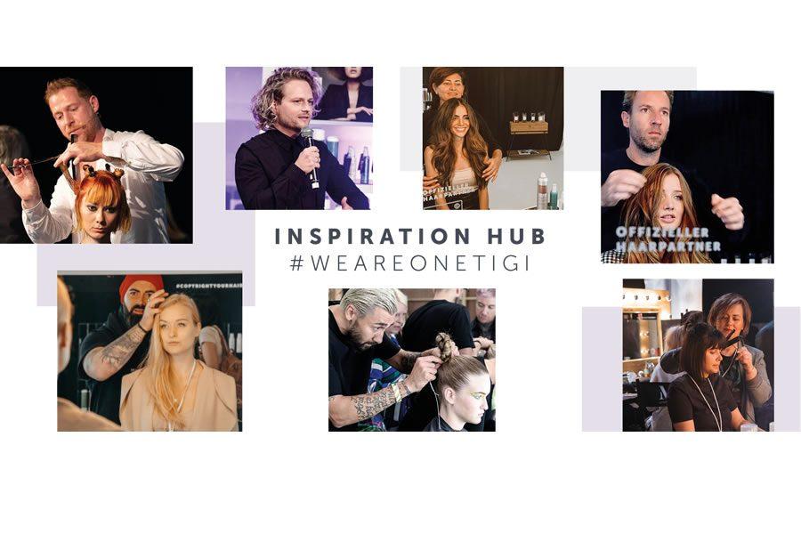 TIGI INSPIRATION HUB - GET INSPIRED VON FRISEUREN. FÜR FRISEURE.