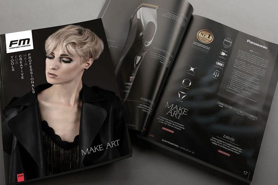 Tools for Creative Hair Professionals - der neue Fripac-Medis-Katalog Make Art ist da! - Bild