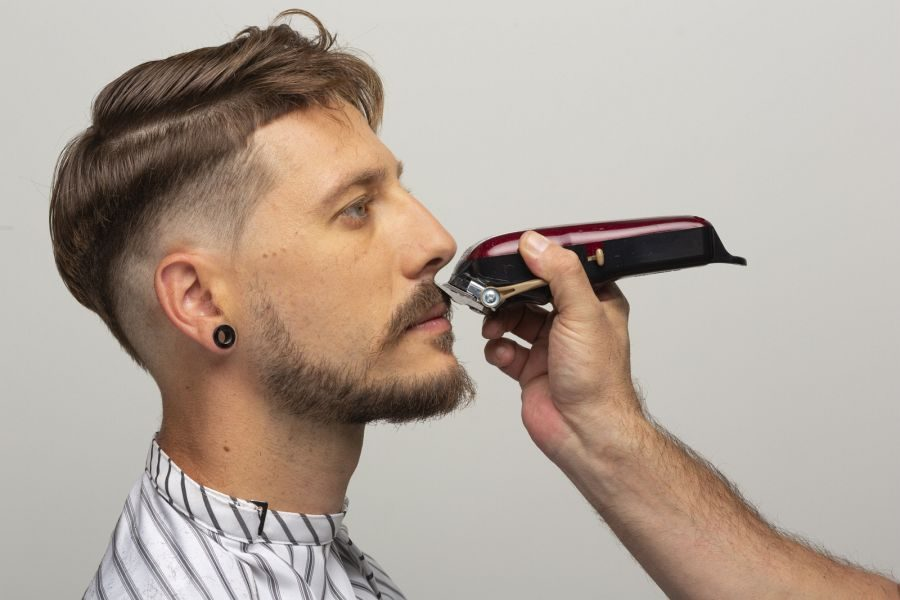Men Trendlook 2020: Double Undercut by Anthony Galifot