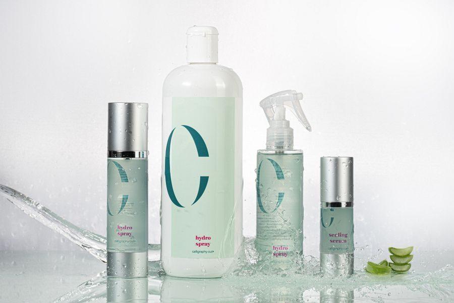 Exklusiv-Produkte hydro spray und sealing serum