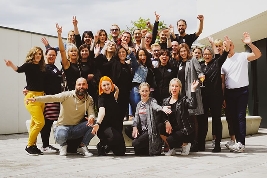 Digitales Abschlussevent für das Salonbotschafterprogramm von Goldwell mit 21 Teilnehmern - Bild