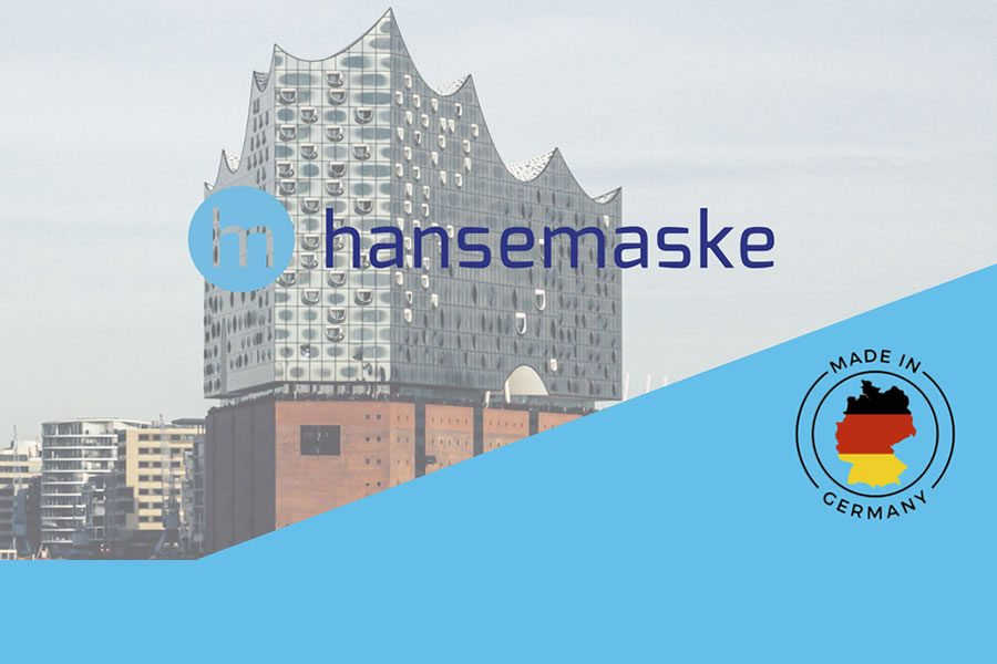 Hansemaske - medizinische Schutzmaske für Hamburg