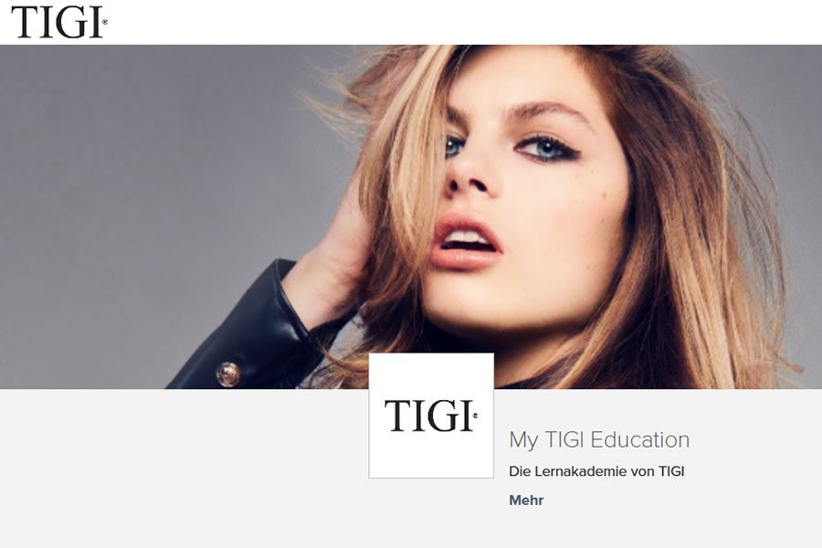 Die neue TIGI Digital Academy My TIGI Education geht online