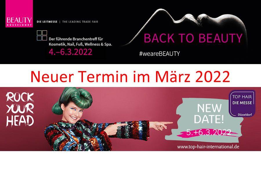 Messe Düsseldorf sagt BEAUTY DÜSSELDORF und TOP HAIR – DIE MESSE Düsseldorf im Jahr 2021 ab
