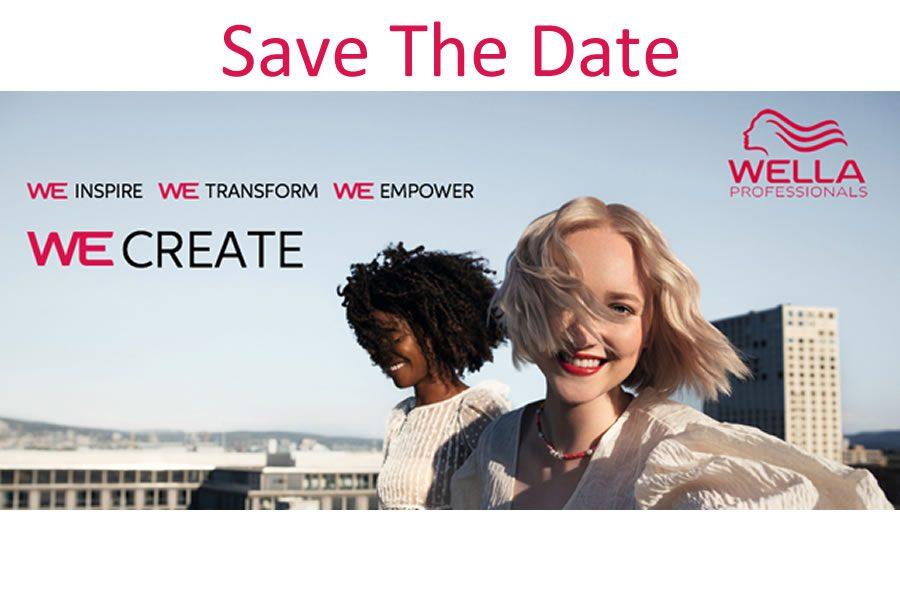 Willkommen bei WE Create - dem internationalen Wella Online-Event, das Sie nicht verpassen dürfen!