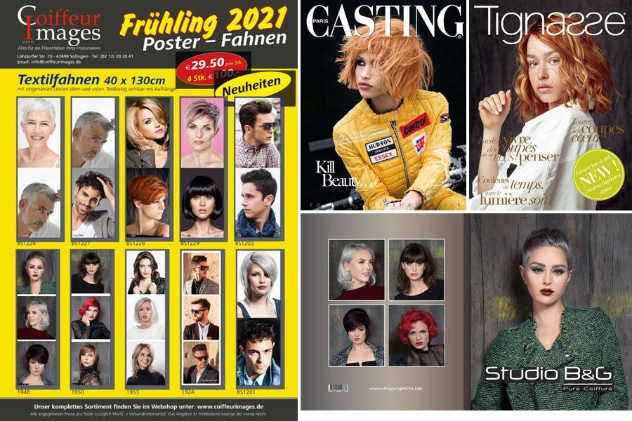 Coiffeur Images - Broschüre Frühjahr 2021
