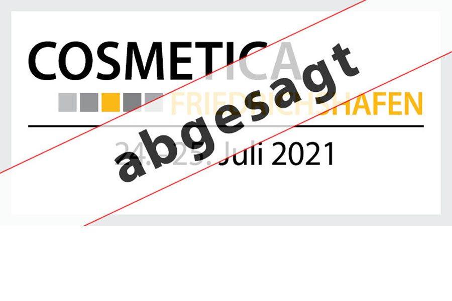 Erstveranstaltung COSMETICA Friedrichshafen findet nicht statt