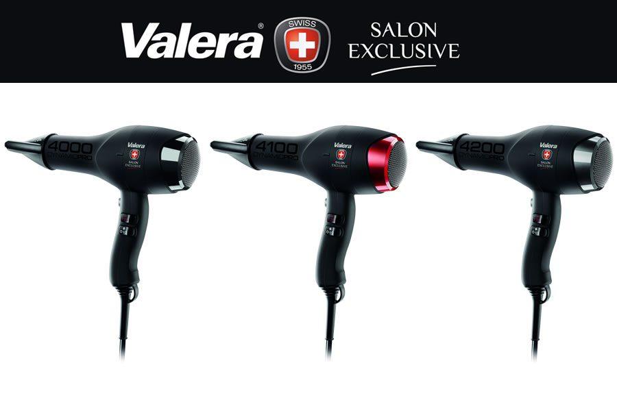 Die neuen DYNAMIC PRO Haartrockner von Valera Salon Exclusive