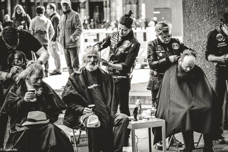 Der Cutting Edge Award 2021 stellt seine Charity Aktion für Barber Angels vor