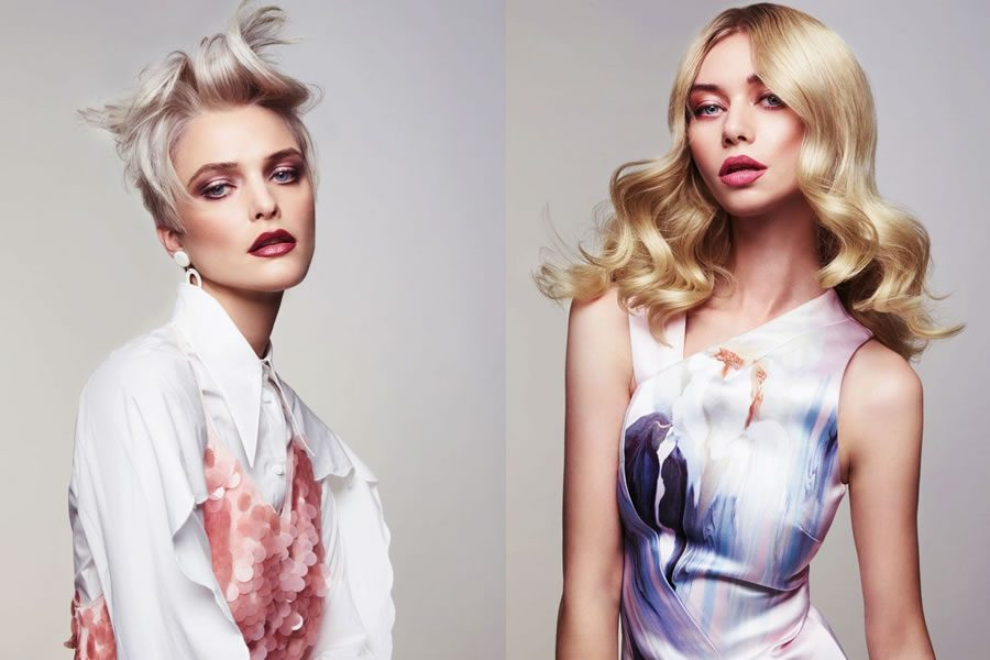 Das Marc Antoni Artistic Team präsentiert seine Blonde Ambition Collection