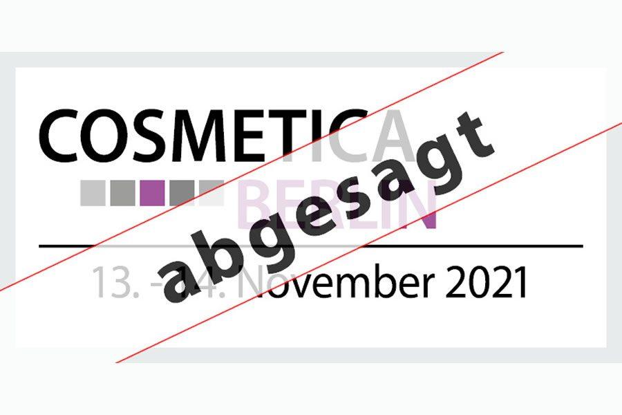 COSMETICA Berlin 2021 findet nicht statt