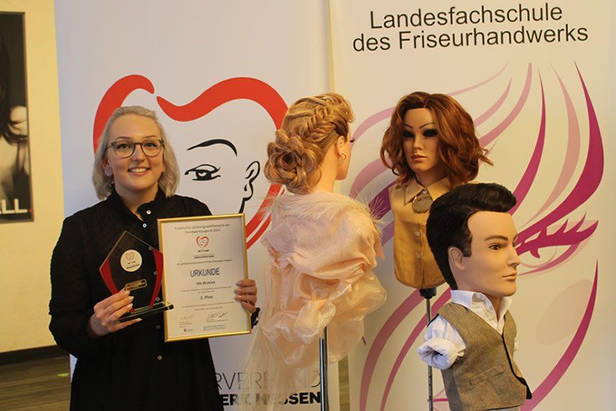 Ida Brusius gewinnt Landesentscheid 2021
