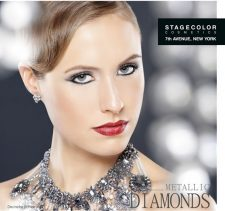 Metallic Diamonds - der Stagecolor Cosmetics™ Make-up Wintertrend 2014: