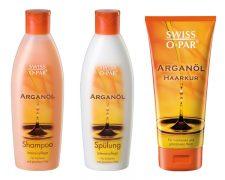 Haarpflegeserie mit wertvollen Inhaltsstoffen von Swiss O Par - Bild