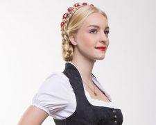Wiesn-Schnecke: Moderne Dirndl-Frisuren für das Oktoberfest 2015 - Bild