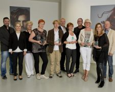 Absolventen Salon Service Manager 2015: Goldwell Deutschland
