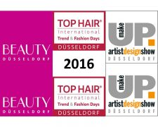 BEAUTY DÜSSELDORF, TOP HAIR International Trend & Fashion Days Düsseldorf und make-up artist design show 2016 setzen Erfolgsgeschichte fort: News, Szene