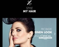 STYLE MY HAIR APP - Bild