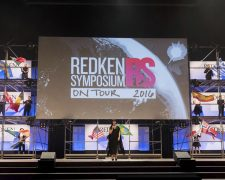 Friseur Redken Symposium on Tour mega Event in Barcelona