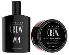 American Crew Heavy Hold Pomade / American Crew WIN: Haarstyling, Haarspray