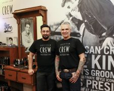 American Crew stylt V.I.P.s zur Fashion Week: Barbers Special