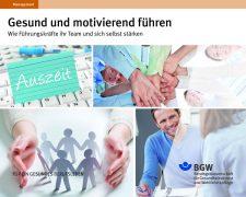 BGW-Broschüre Gesund und motivierend führen - Bild