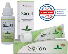 Sorion Creme und Sorion Head Fluid: Haarpflege, Treatment