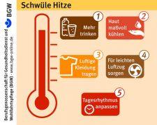 Wie man mit schwüler Hitze am besten klarkommt - Bild