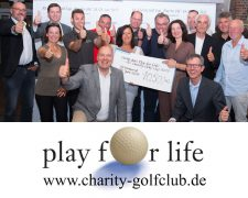 Jubiläum - 20 Jahre Charity Golf-Cup Play for Life:
