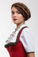 Frisuren-Trends 4 - Wiesn-Krone: Moderne Dirndl-Frisuren für das Oktoberfest 2015