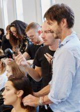 Frisuren-Trends 4 - Supermodel-Reunion bei Versace