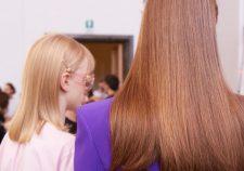 Frisuren-Trends 9 - Supermodel-Reunion bei Versace