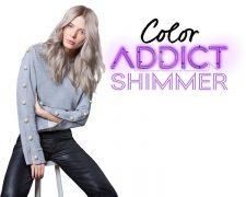 Color ADDICT SHIMMER - Die erste Nuancen-Palette für schimmernde Multi-Reflexe - Bild